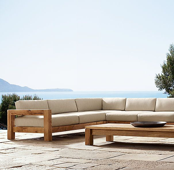 Colorado Sectional From RH Email Blast 0314. Outdoor CouchOutdoor Wood  FurnitureDiy ...