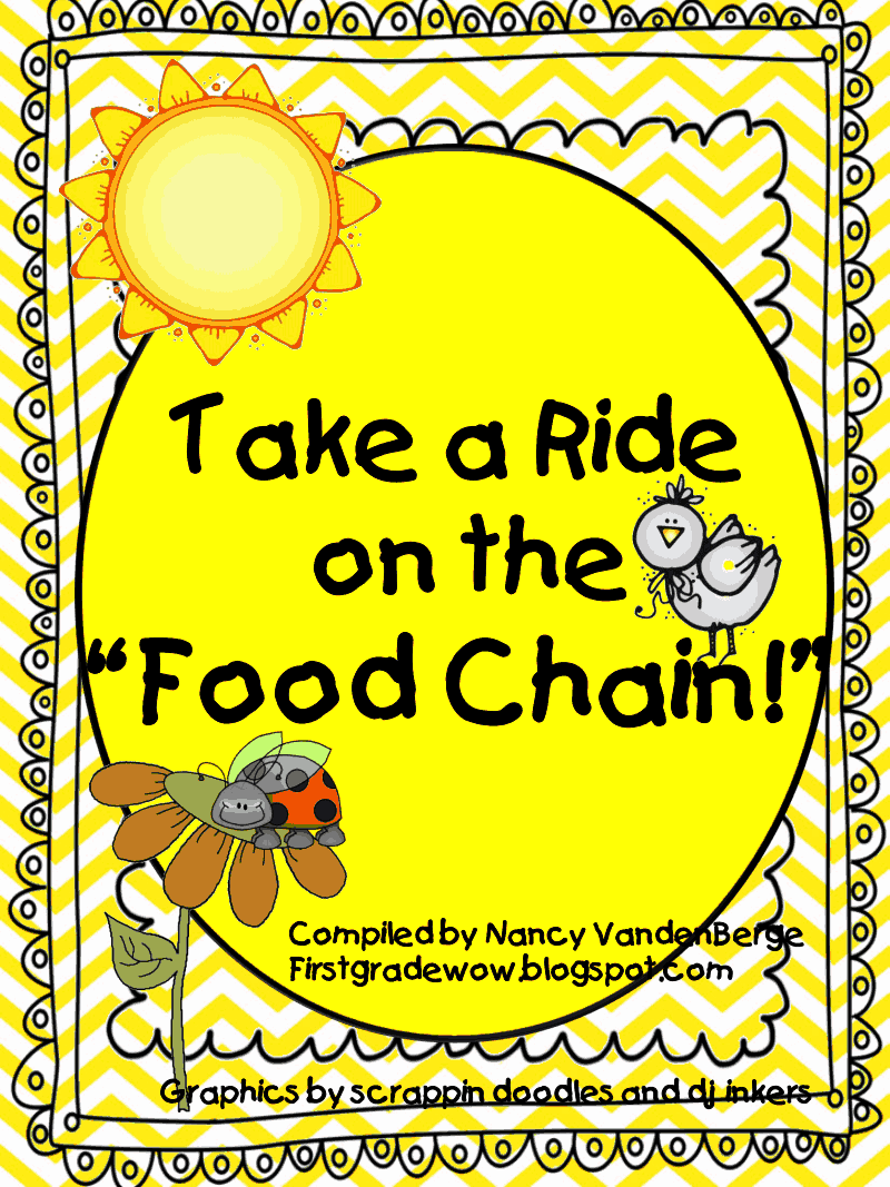 food chain unit.pdf Food chain activities, First grade
