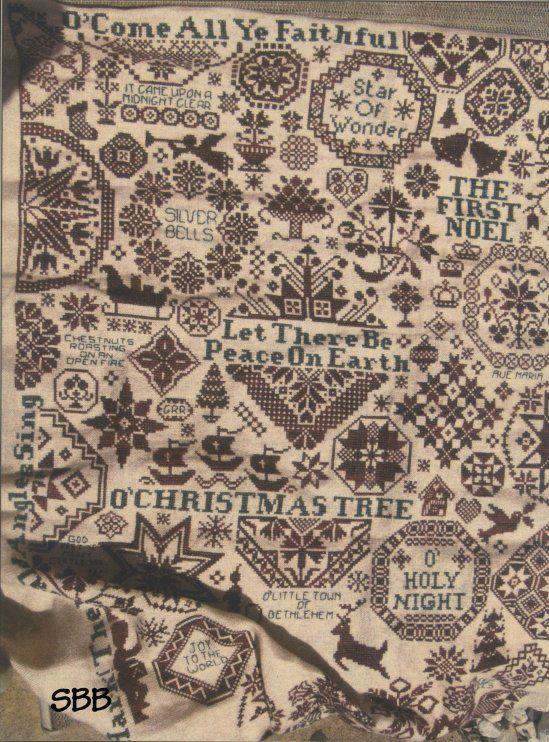ByGone Stitches- Quaker Christmas II
