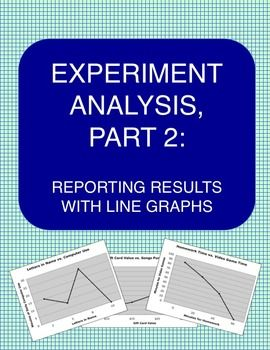 Science Experiment How To Make A Line Graph My Tpt Products