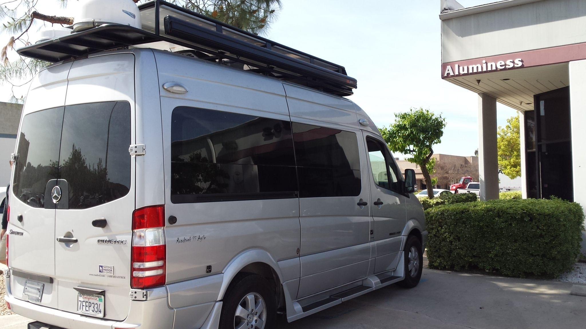 Pin on Roadtrek Vans with Aluminess gear