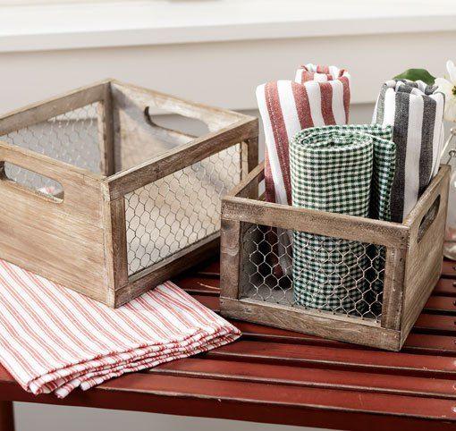 Chicken Wire Basket | Chicken Wire Ideas | Chicken wire, Wire
