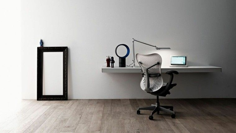 oficina de estilo minimalista