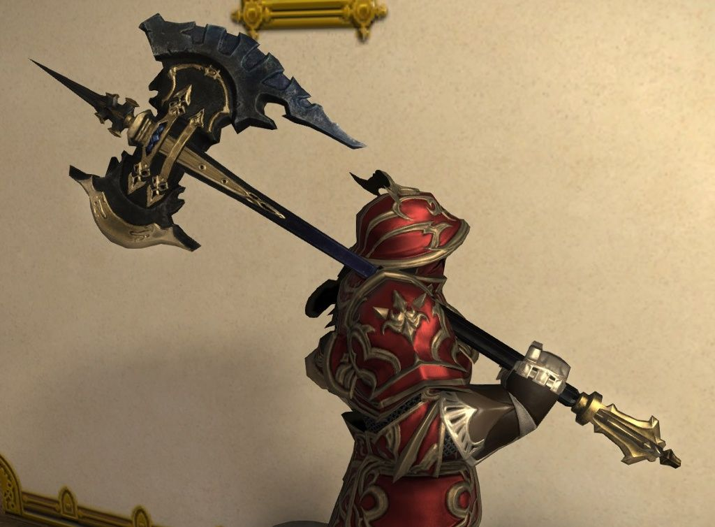 「FF14 斧」の画像検索結果   Animation   武器, 斧, 鎧