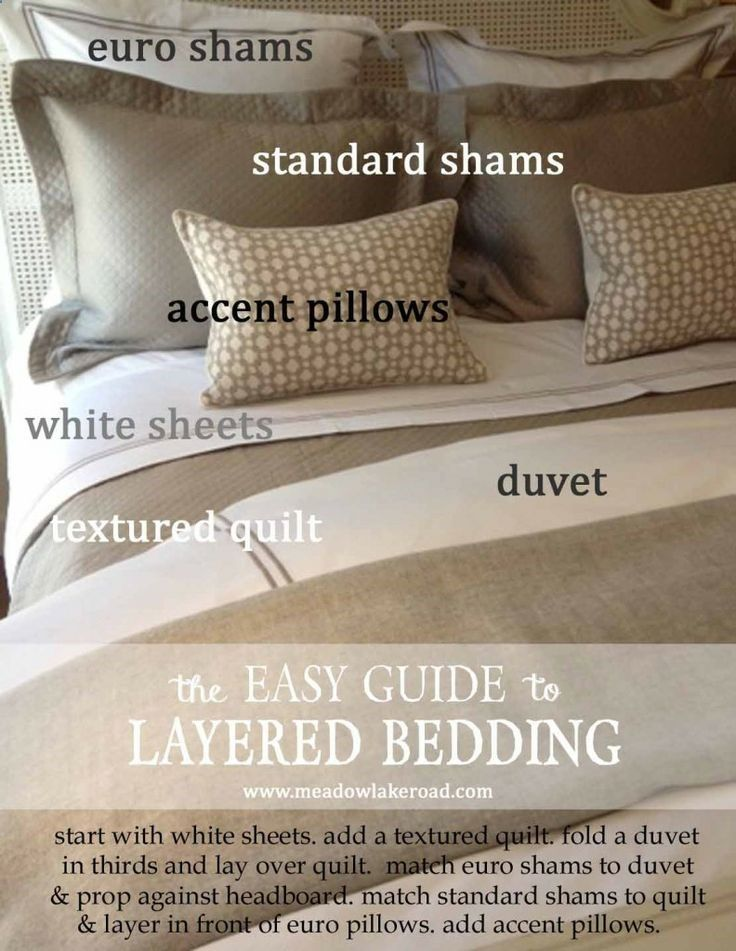 5 Ingredients for a Beautifully Made Bedguide to layered