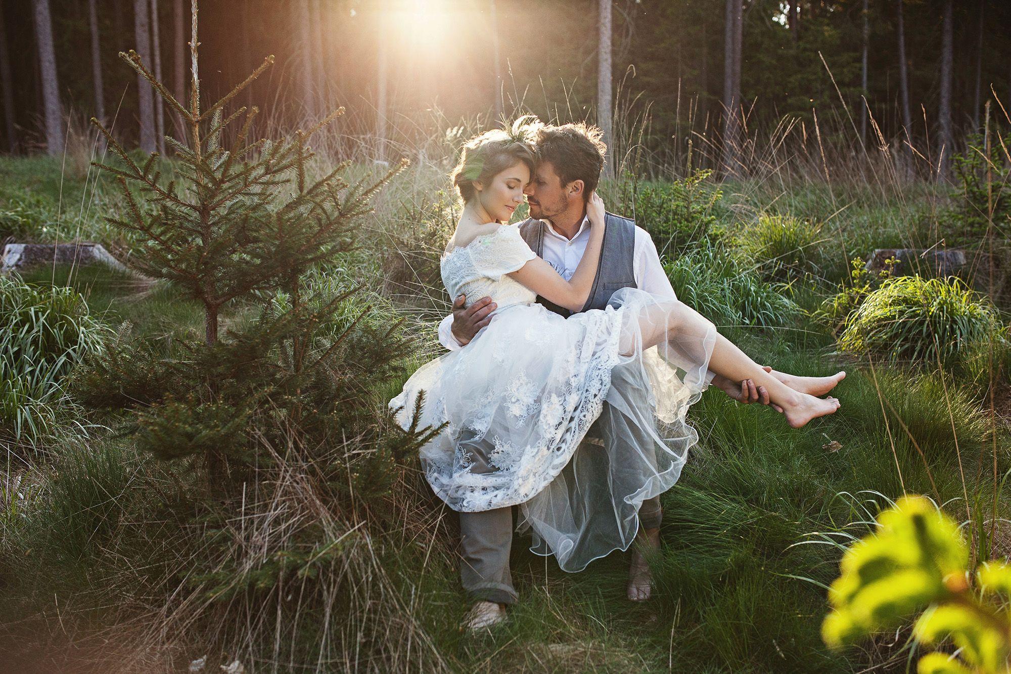 lesní / svatební inspirace