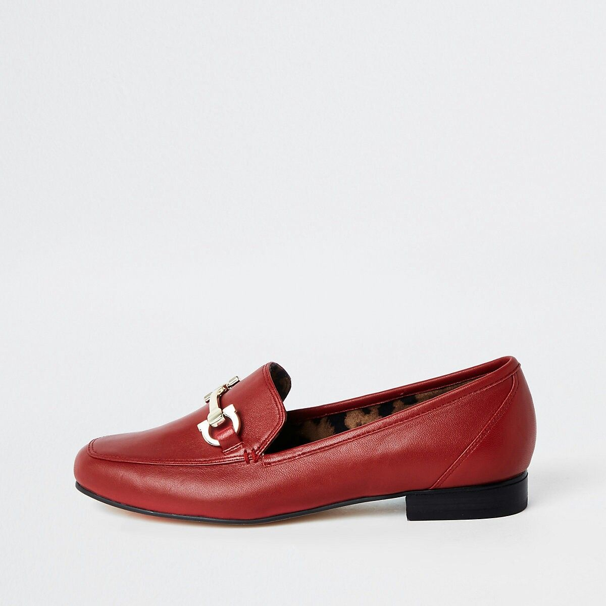 aba9e64a8a0d Red leather snaffle loafers | Loafers | Loafers, Loafer shoes, Shoe ...
