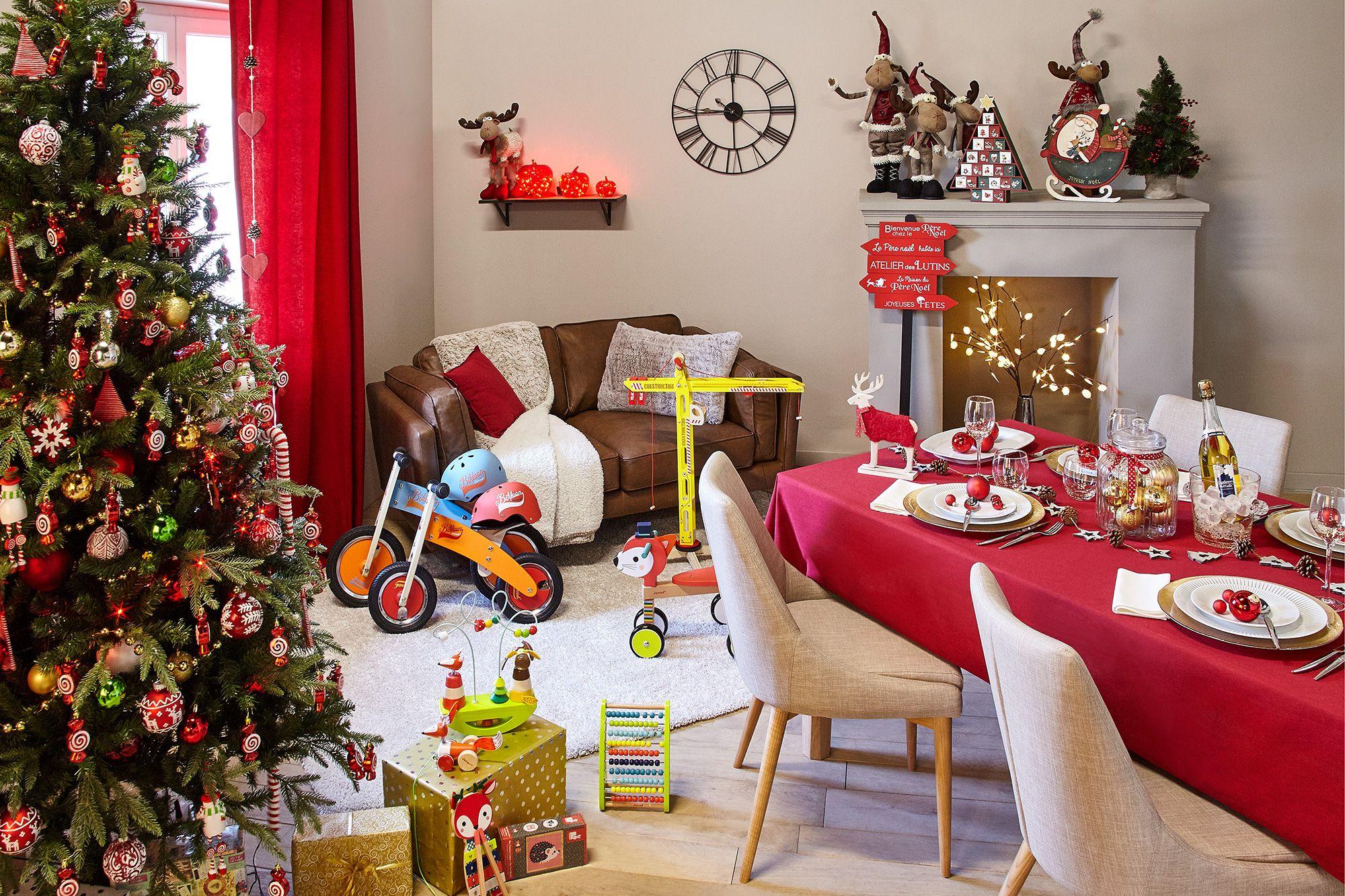 Décoration - Noël - Déco - Maison - Alinéa  Déco chambre noël