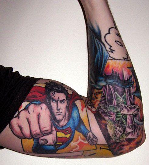 845e20134 Tattoo'd Lifestyle Magazine Presents: 15 Epic Superman Tattoos ...