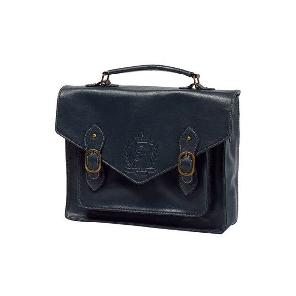 型押し3WAYサッチェルBAG Fi.n.t(フィント)   ファッション通販【ファッションウォーカー】 ❤ liked on Polyvore featuring bags, accessories, accessories - bags and blue bag