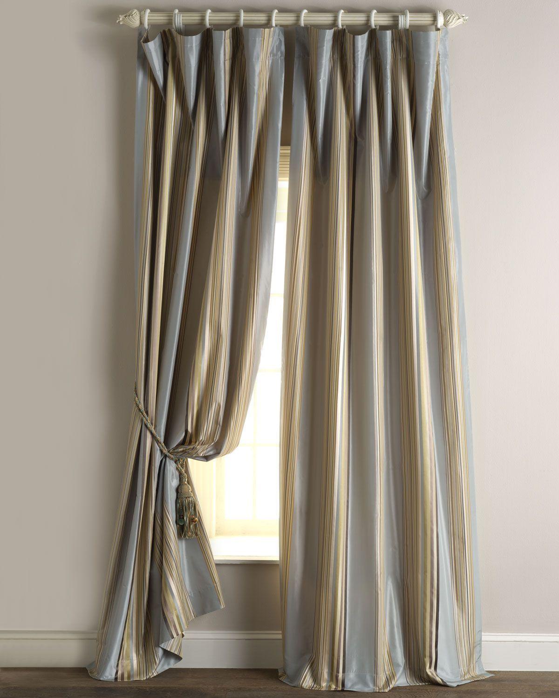Each 96L Sienna Curtain Gray Cream