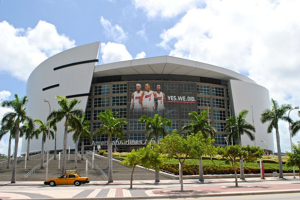 American Airlines Arena, Miami Miami heat, Miami travel