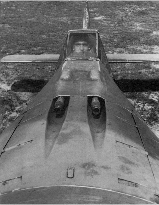 Amazing front view of a Focke Wulf Fw 190 A3