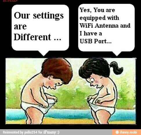 Image result for man and woman usb port comic