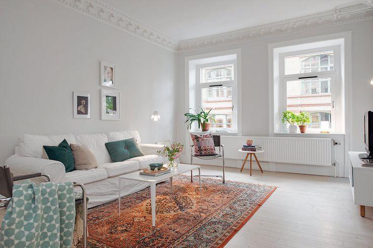 Perzisch tapijt in scandinavisch interieur google zoeken wonen