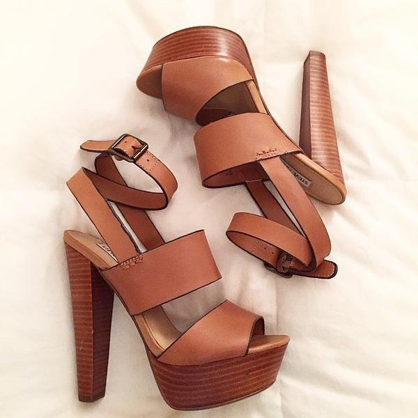 afa13644054 Steve Madden  Dezzzy  Leather Ankle Strap Sandal (Women)