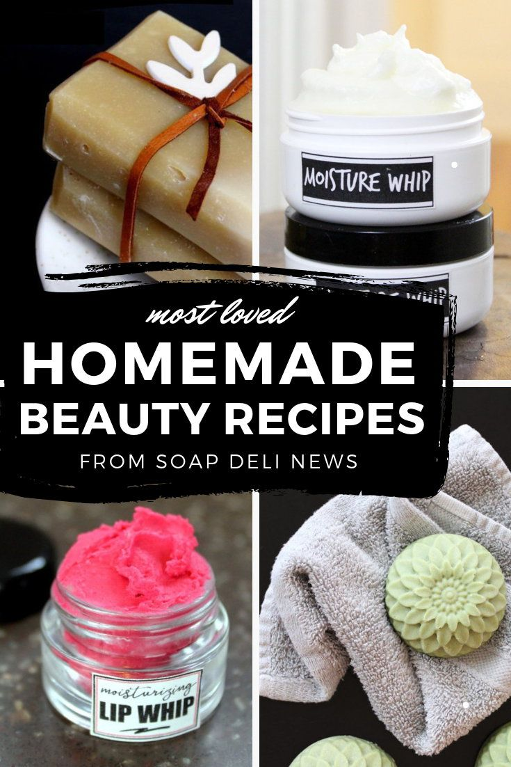 Homemade Beauty Recipes: The Most Loved Recipes from the Past Year #skincare