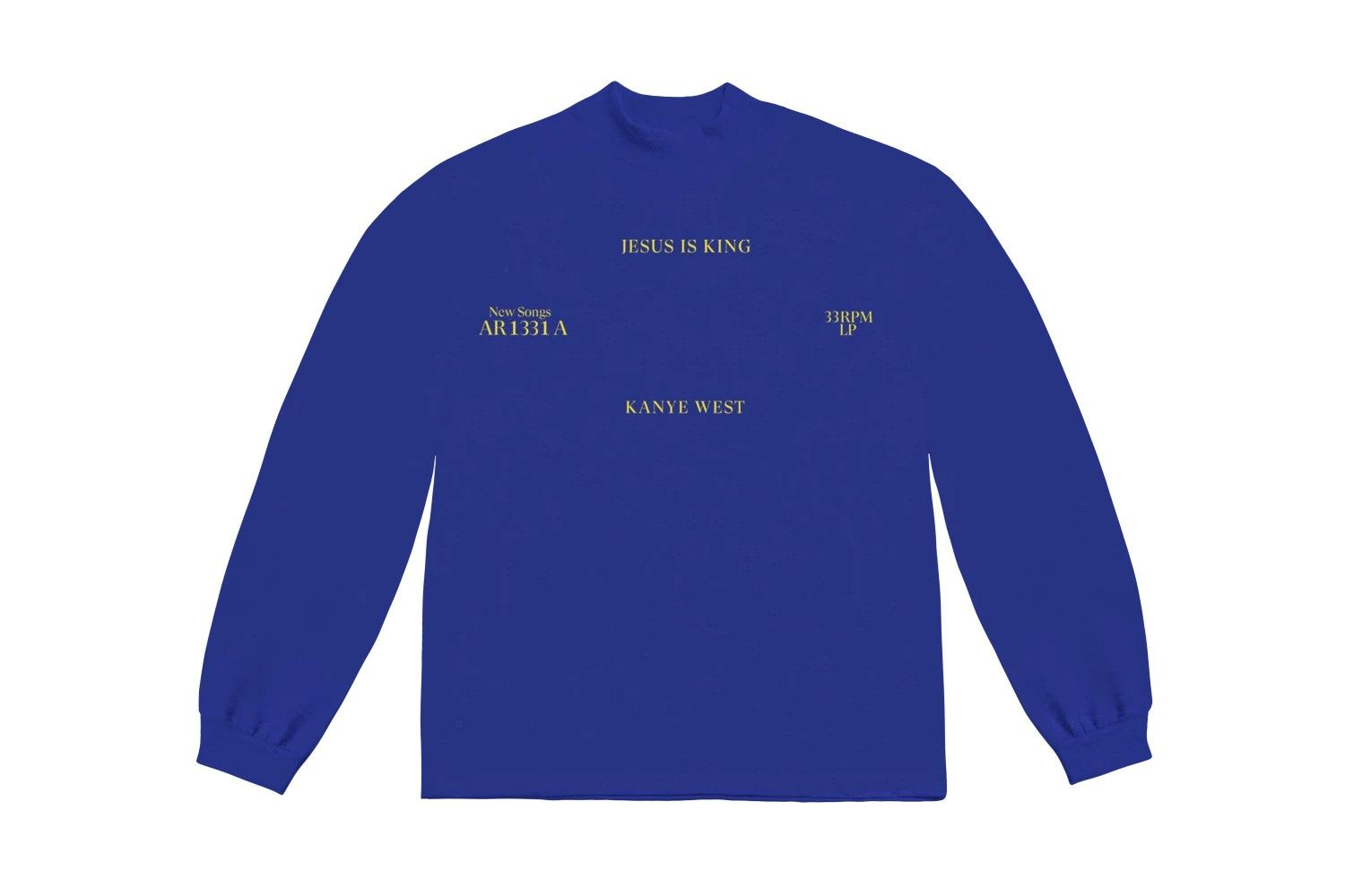 Inside Kanye West S Jesus Is King Merch Pop Up Shop Update Kanye West Long Sleeve Tshirt Men Kanye