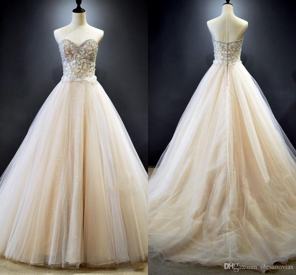 Bridal gowns for beach weddings  Romantic Beach Wedding Dresses  Sweetheart Sleeveless Tulle A