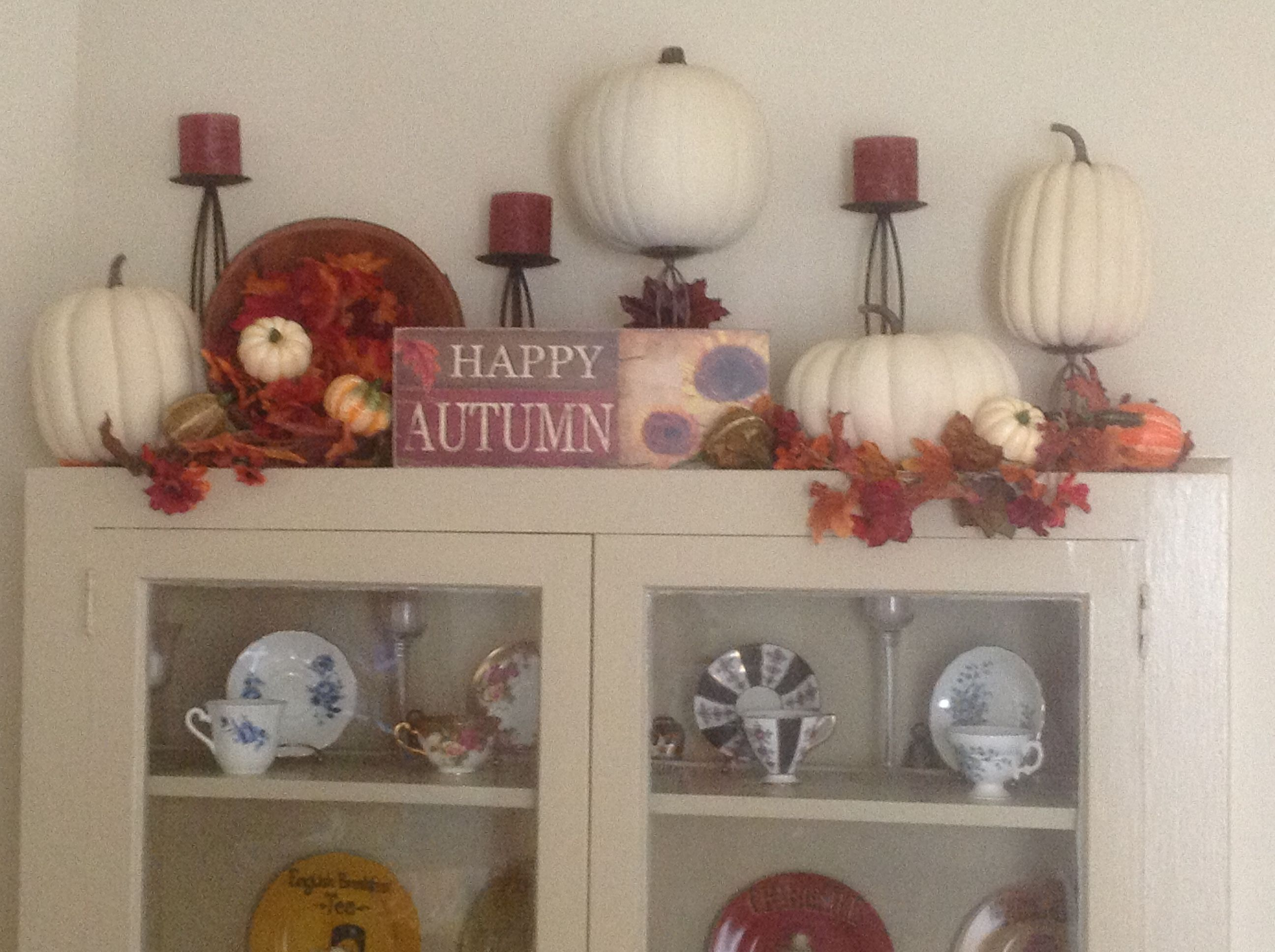 Autumn harvest decor