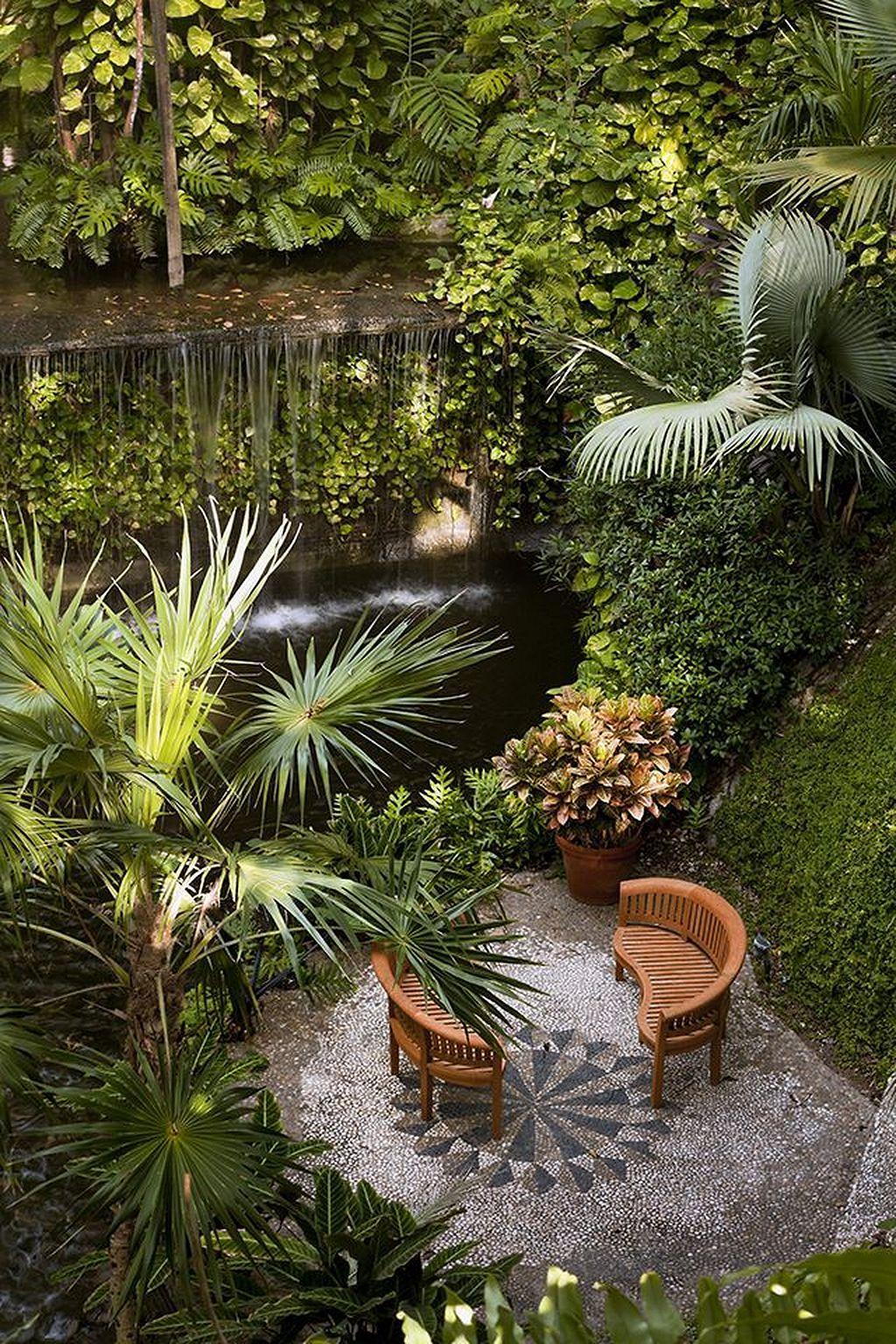 60 warm tropical backyard landscaping ideas tropical on gorgeous small backyard landscaping ideas with patio design ideas id=55613