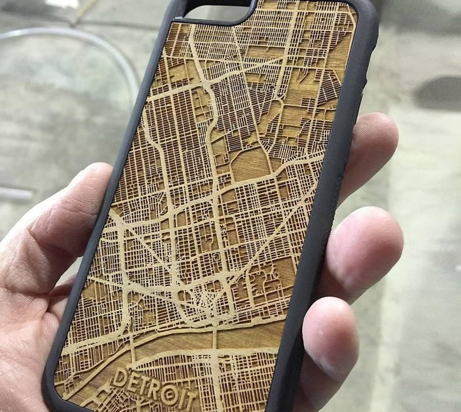 Cutmaps Is A Company That Makes Phone Cases That Have