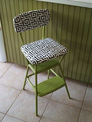 Marvelous Cute Recovered Utility Chair Refurb Diy Kitchen Chairs Gmtry Best Dining Table And Chair Ideas Images Gmtryco