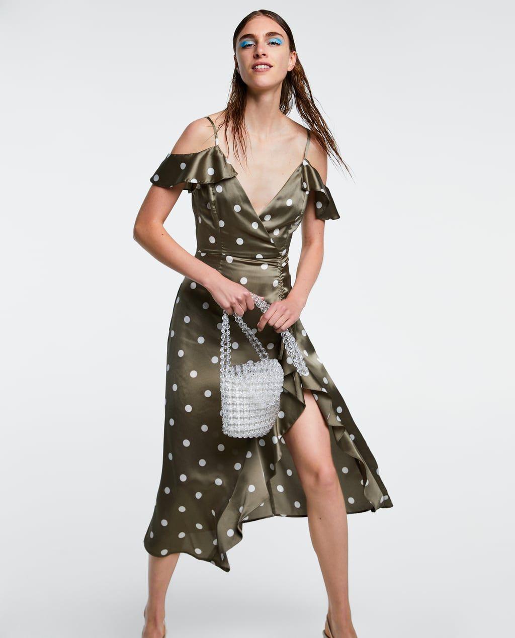 eb1db24dc43 Image 5 of POLKA DOT DRESS from Zara
