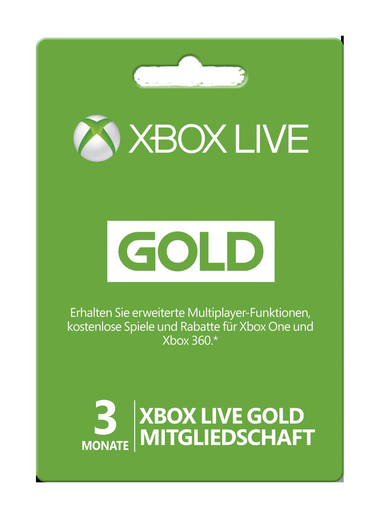 Bei 1of10 De Gibt Es Jede 10 Xbox Live Mitgliedschaft Gratis Gold