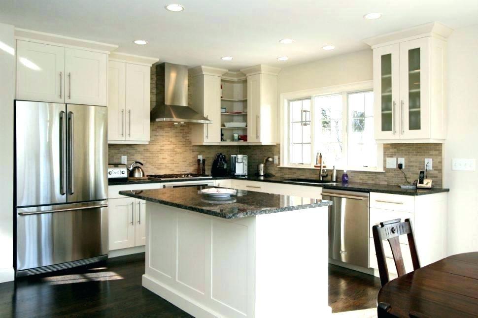 L Shaped 10x10 Kitchen Layout With Peninsula Novocom Top