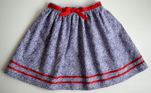 Liberty Tom Daley skirt SS15