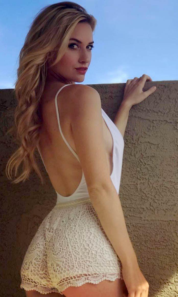 Image Result For Paige Spiranac Dress Golf Dresses Fashion