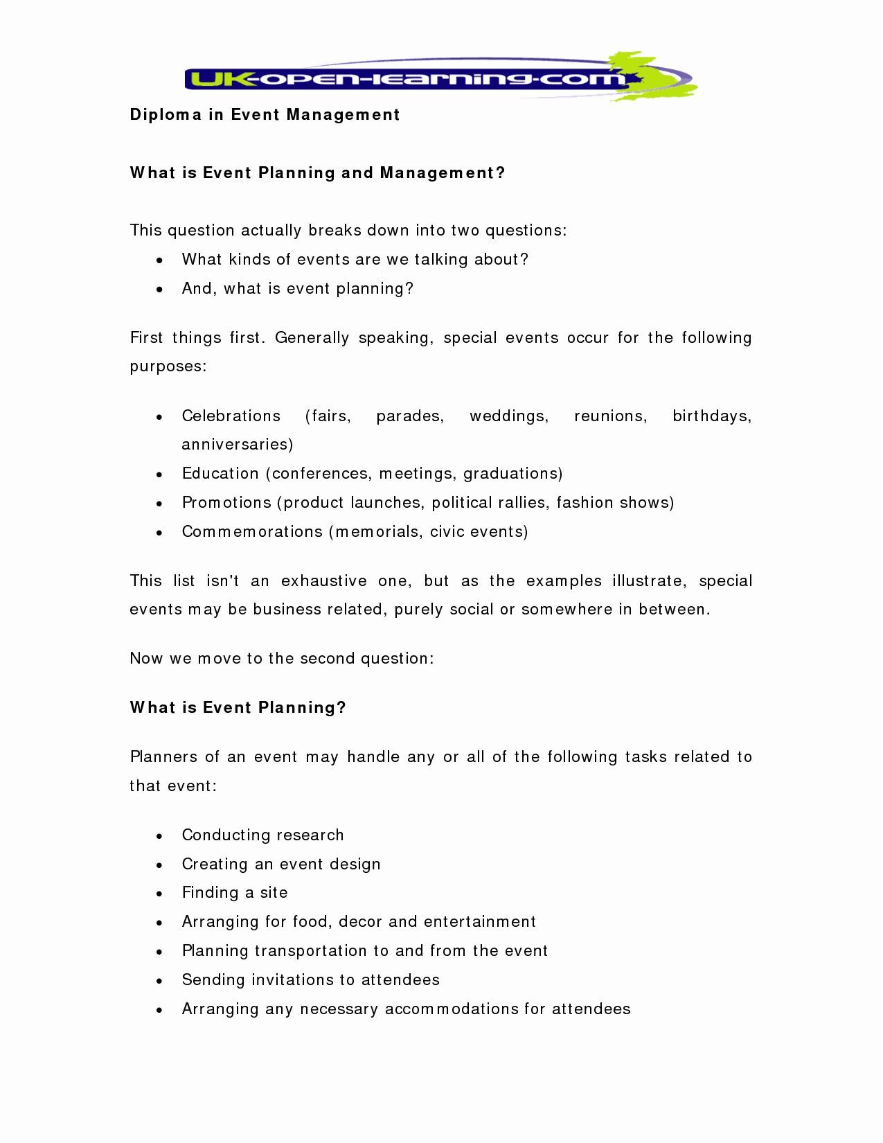 Event Planning Proposal Template Luxury event Planning