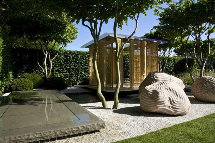 Gravier blanc pour le jardin: astuces et idées déco | Gravier ...