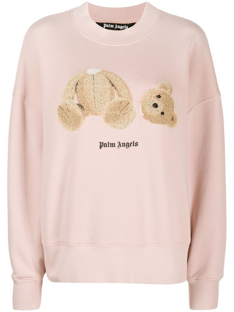 Bear Print Sweatshirt Printed Sweatshirts Sweatshirts Bear Print [ 1067 x 800 Pixel ]