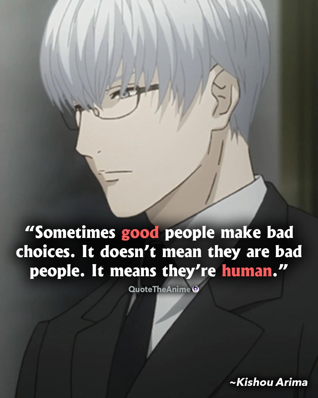 17+ Powerful Tokyo Ghoul Quotes (HQ Images) | QTA