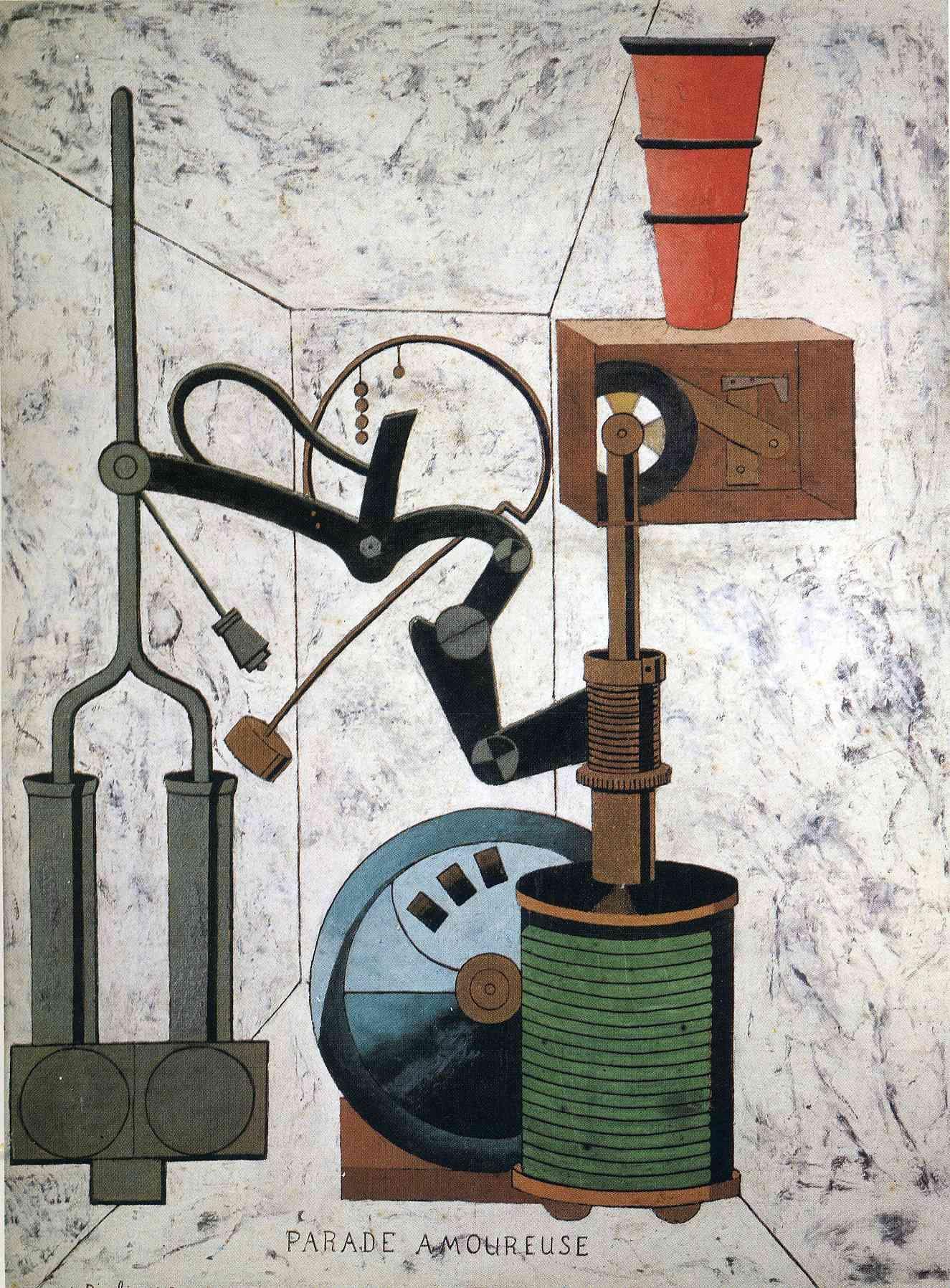 Liefdesparade ~ 1917 ~ Olieverf op karton ~ 96,5 x 73,7 cm. ~ Verzameling Morton G. Neumann, Chicago ~ © 2015 Artists Rights Society (ARS), New York / ADAGP, Paris