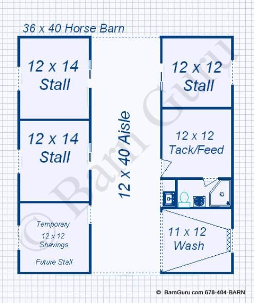 Three stall barn bing images horse barn pinterest for 2 stall horse barn plans