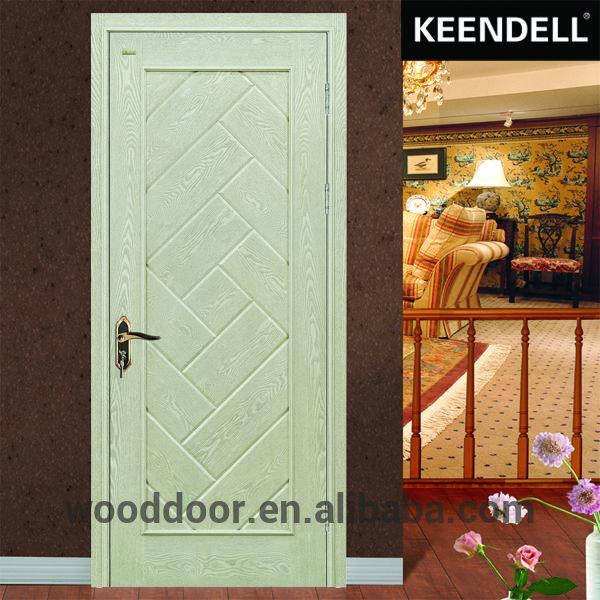 Solid Wood Interior Hard Panel Bathroom Door