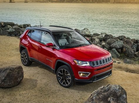 2017 Jeep Compass Launched In North America With Images Jeep