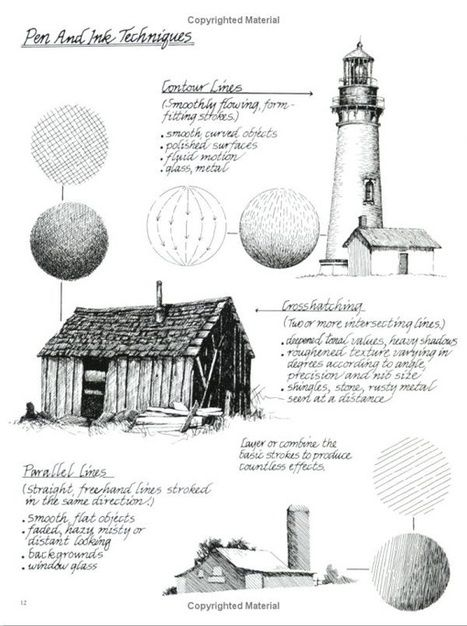 Pen and Ink Drawing Techniques | Drawing References and Resources | Scoop.it