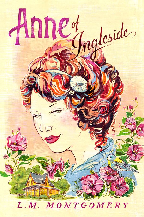 Anne Of Green Gables Book Covers Jacqui Oakley Illustration