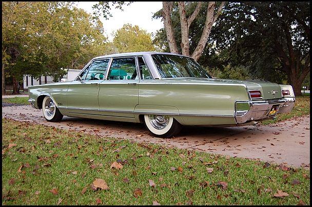 1966 Chrysler New Yorker Four Door Sedan Chrysler New Yorker