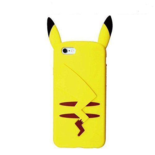 Soft Case Pikachu White Jacket Cover