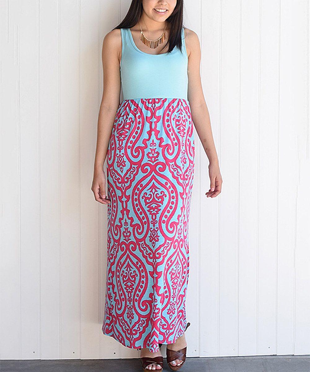 éloges mint u fuchsia paisley maxi dress maxis dresses and ps