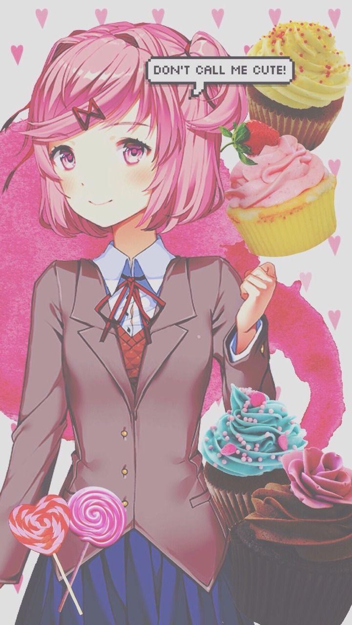Anime Art Doki Doki Literature Club Natsuki Literature Club
