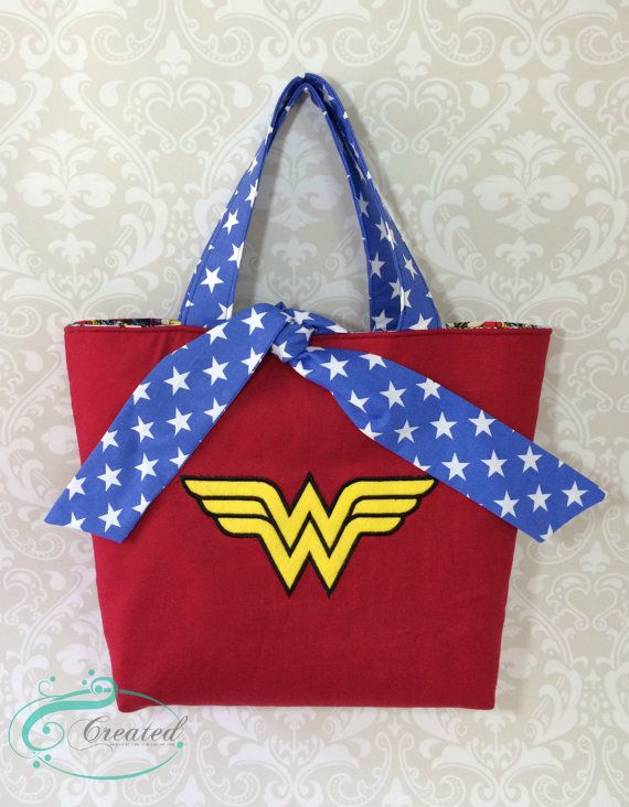 Photo of Wonder Woman Inspired Reversible Tote Bag