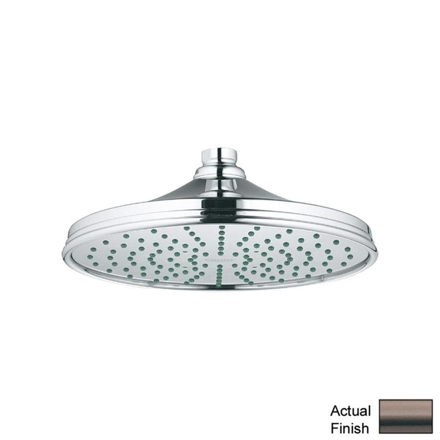 Grohe Rainshower Oil Rubbed Bronze Spray Shower Head 28375zb0 In