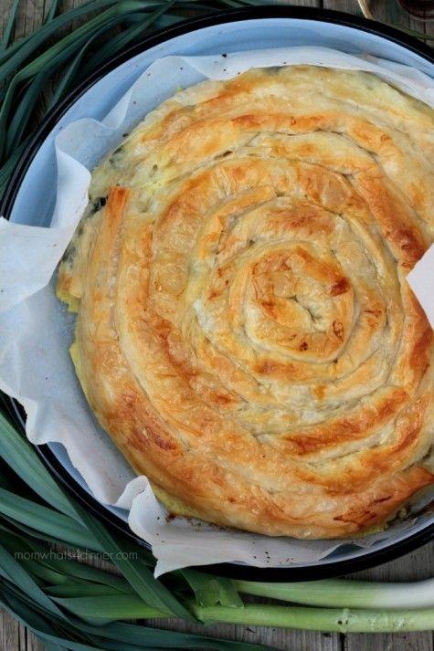 Kol burek me presh swirled burek with leek food albania and recipes kol burek me presh swirled burek with leek when feta met olive albanian recipesalbanian foodserbian forumfinder Images