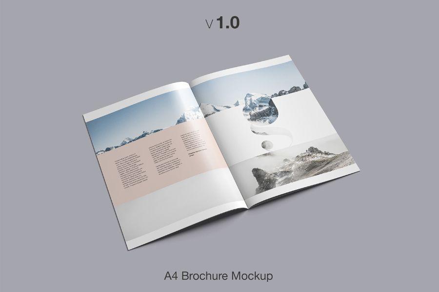 Free A4 Brochure Mockup Free Design Resources Brochure Mockup Free Brochure Mockup Psd Brochures Mockups